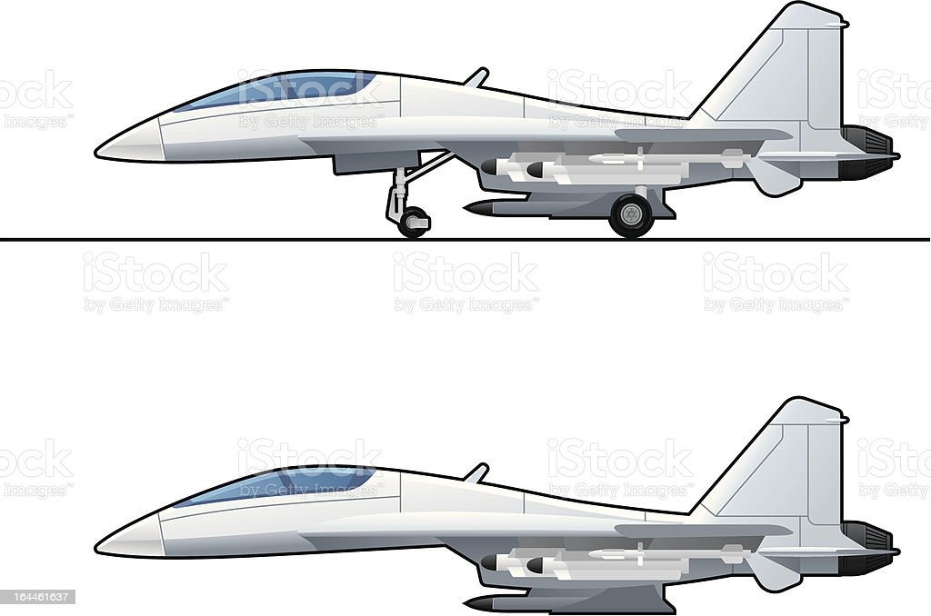 fighter royalty-free fighter stock vector art & more images of airplane