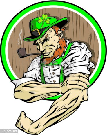 the fighting irish coloring pages - photo#32