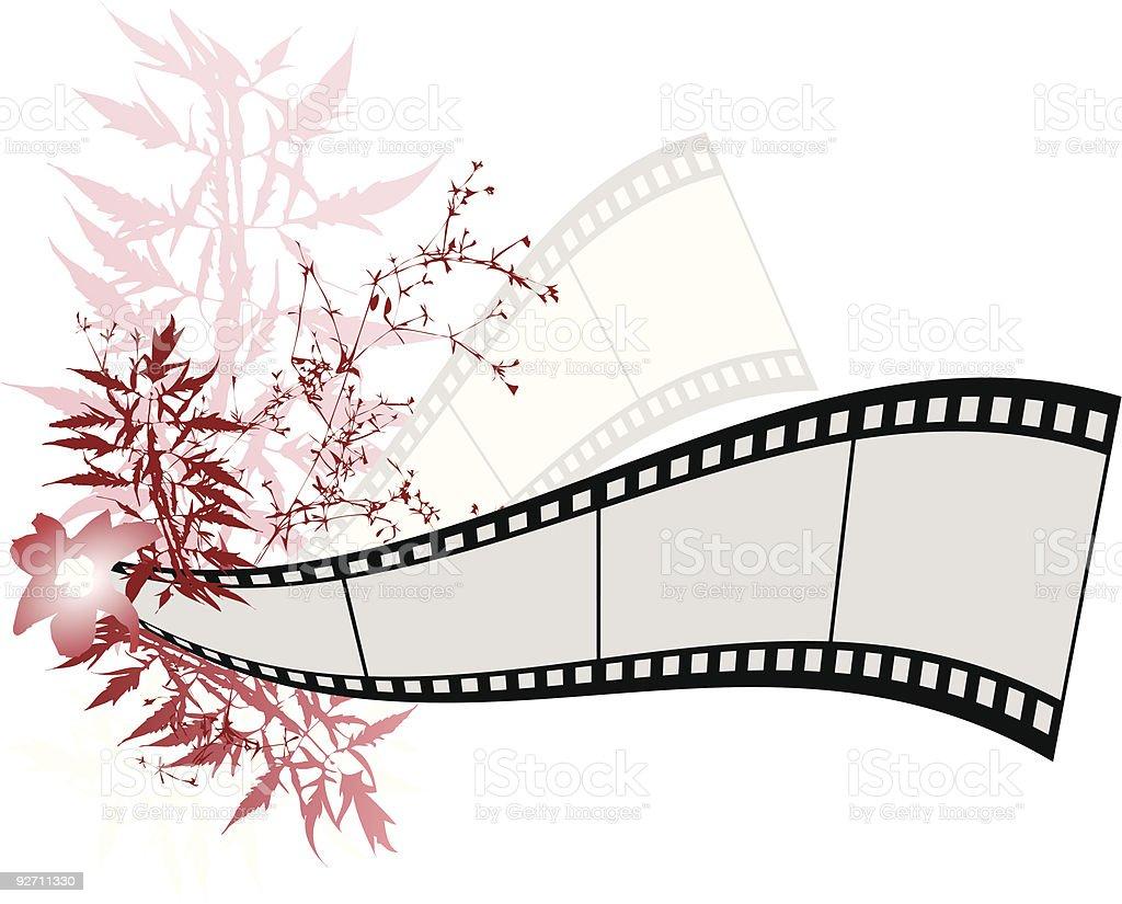 Film Banner royalty-free stock vector art