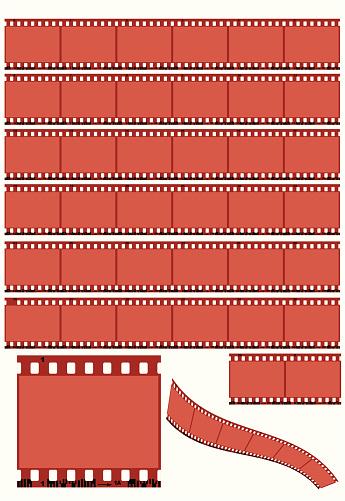 C41 Film Strips