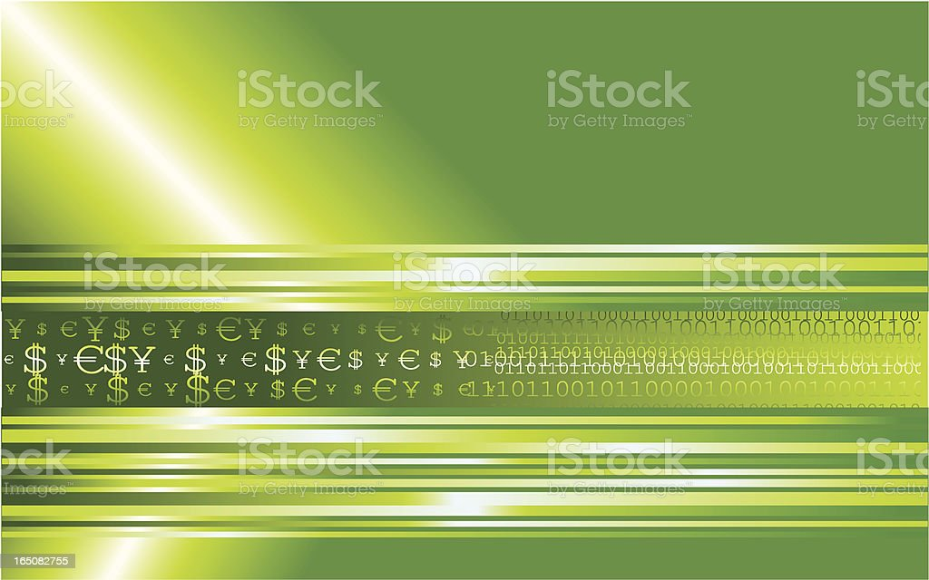 Finance and data royalty-free stock vector art