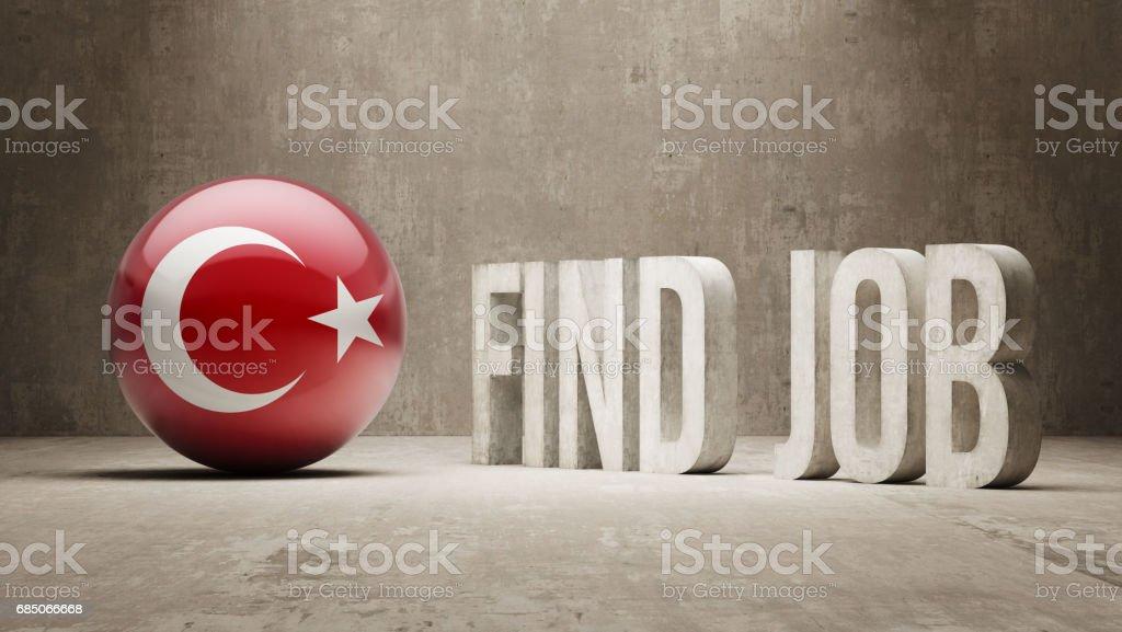 Find Job ilustración de find job y más banco de imágenes de anuncio libre de derechos