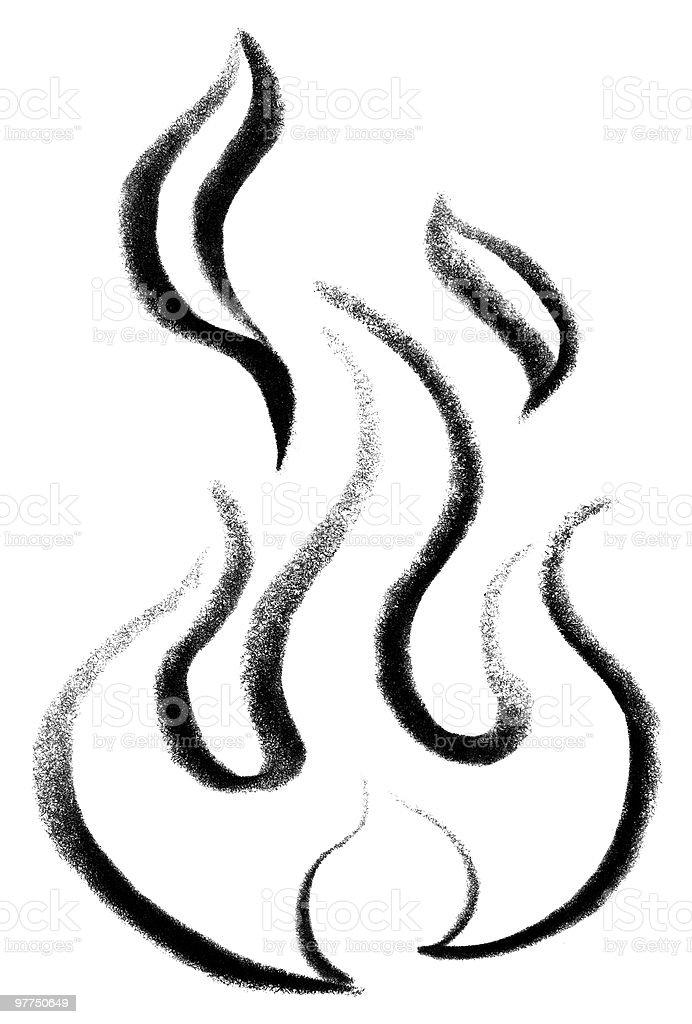 Muitas vezes Desenho De Fogo E Chamas - Arte vetorial de acervo e mais imagens  OR17