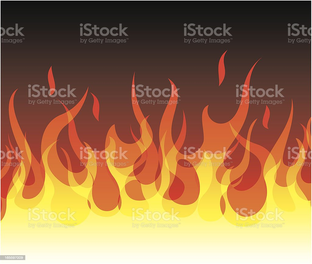 Fondo de fuego ilustración de fondo de fuego y más banco de imágenes de amarillo - color libre de derechos