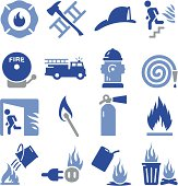 Fire and things burning. Professional icons for your print project or Web site. See more in this series.