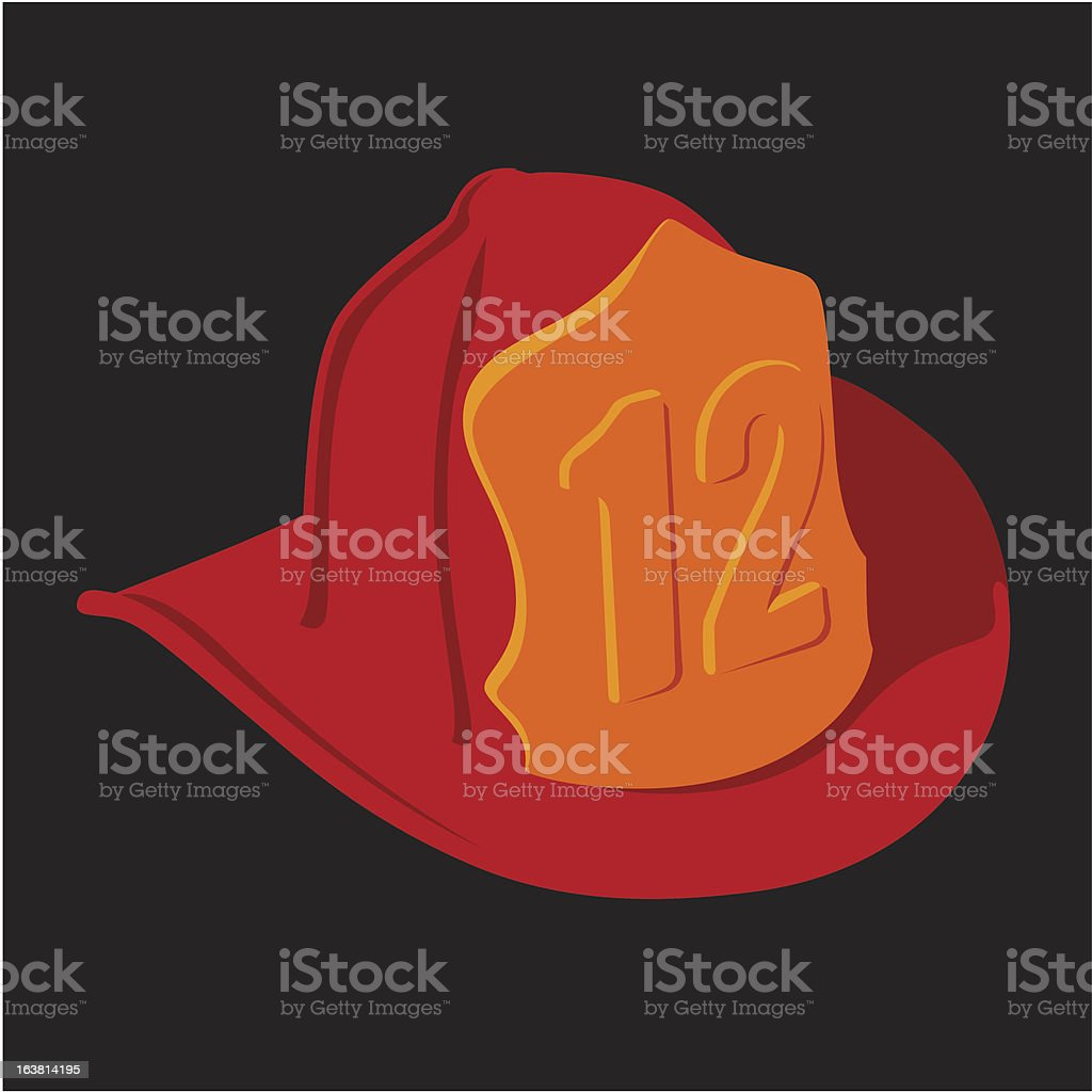 Firefighter Helmet royalty-free firefighter helmet stock vector art & more images of concepts