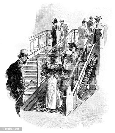 Reno, a graduate of Lehigh University, produced the first working escalator ( called the
