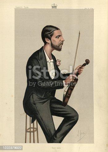 istock First Violin, Alfred, Duke of Saxe-Coburg and Gotha, Vanity Fair 1222379022