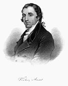 istock Fisher Ames Historical Engraving, 1872 690423672