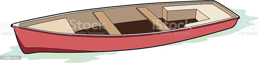 Fisherman's boat royalty-free stock vector art