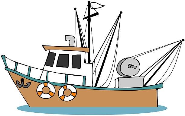 Fishing Boat Cartoon Fishing Boat Cl...