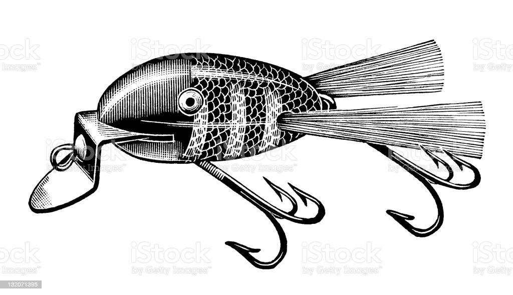 Fishing Lure royalty-free stock vector art