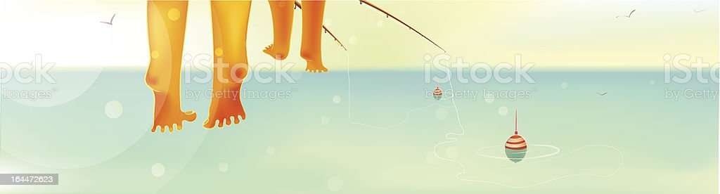 Fishing with Father royalty-free fishing with father stock vector art & more images of activity