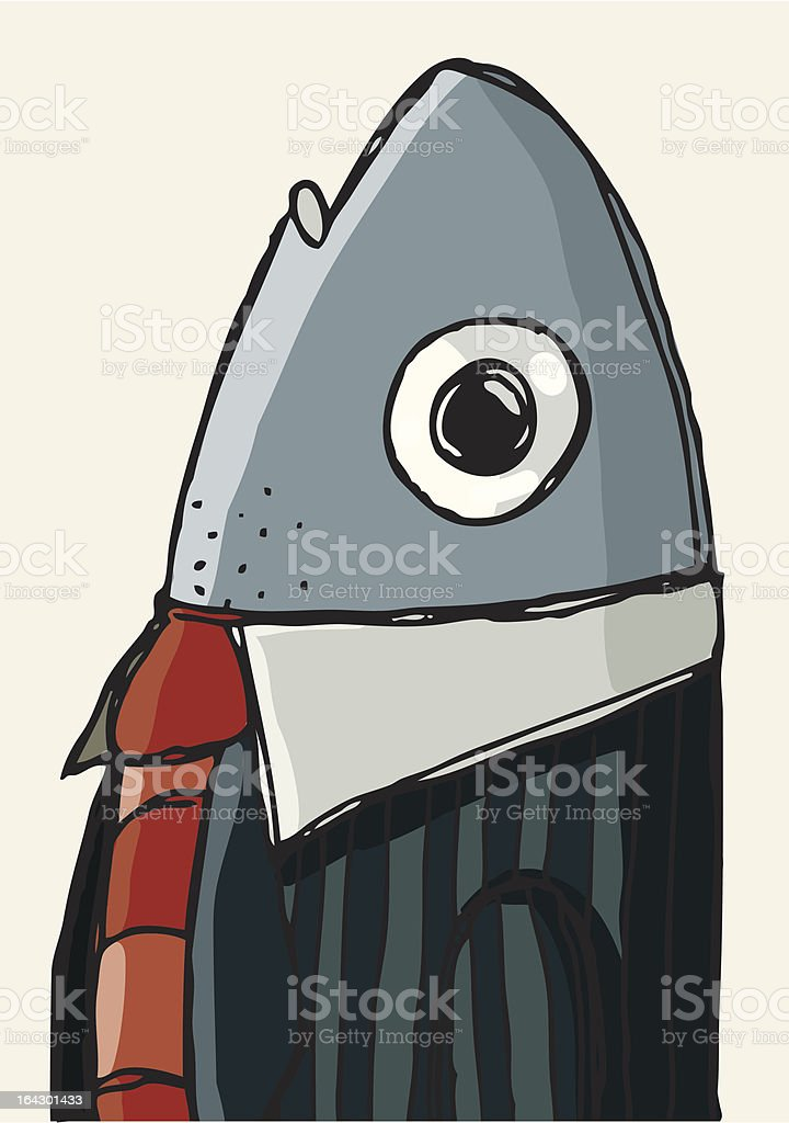 Fishy Business royalty-free stock vector art