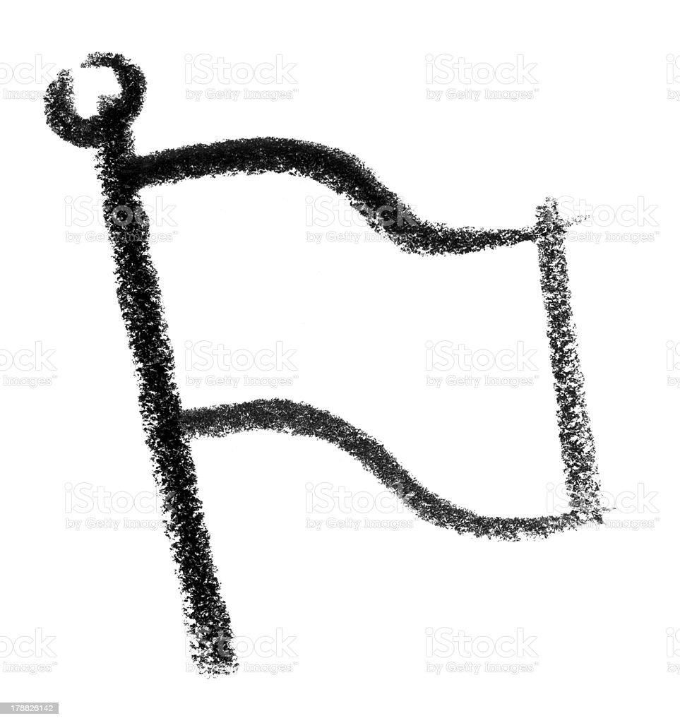 flag icon vector art illustration