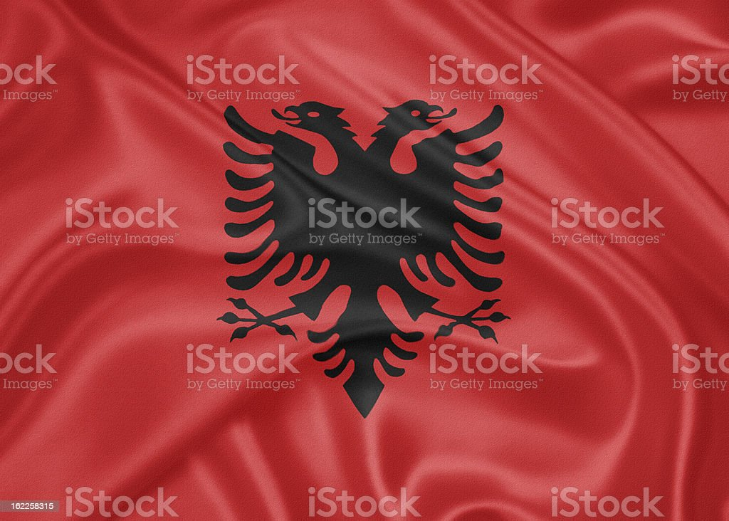 Flag of Albania royalty-free flag of albania stock vector art & more images of albania