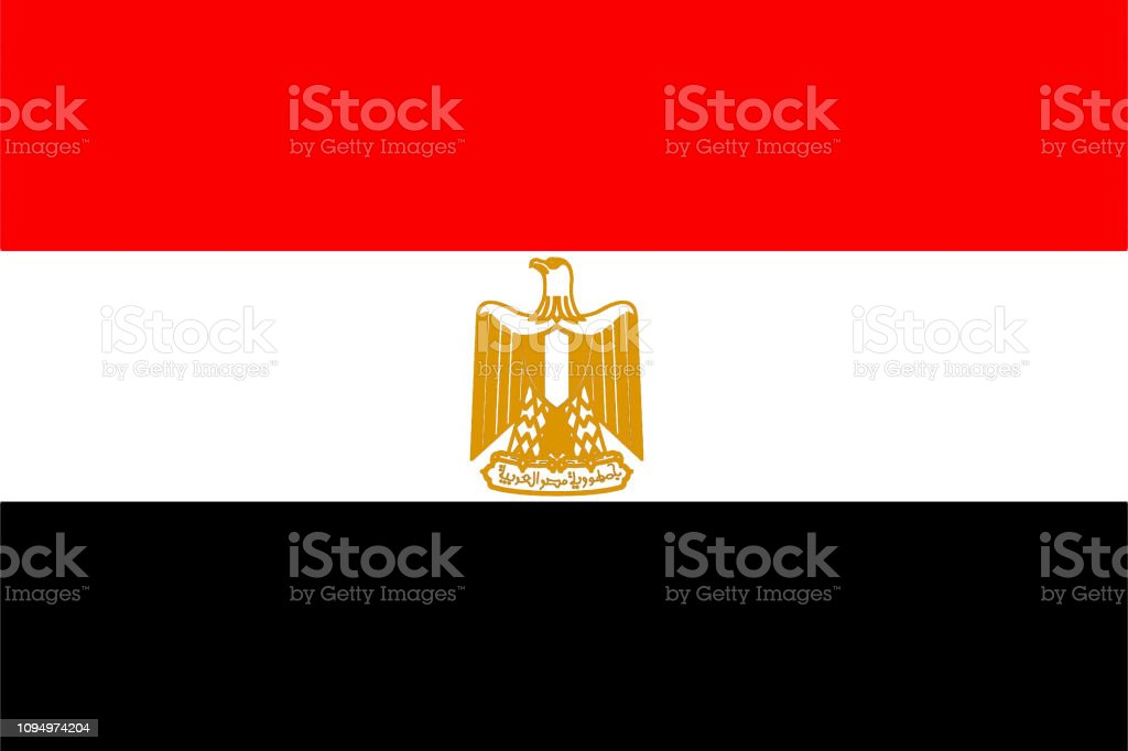 Flag Of Egypt Stock Illustration Download Image Now Istock