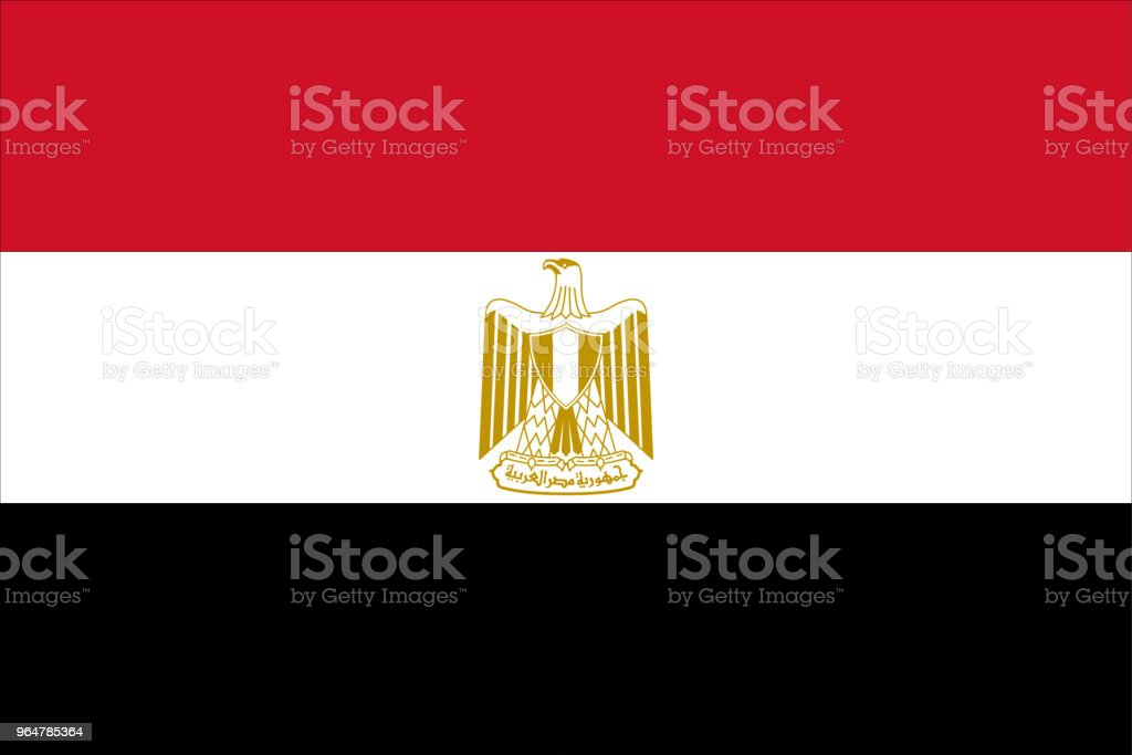 Flag of Egypt royalty-free flag of egypt stock vector art & more images of czech republic