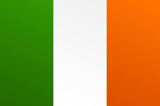 遷移の色とアイルランドの旗 - アイルランドの国旗点のイラスト素材/クリップアート素材/マンガ素材/アイコン素材