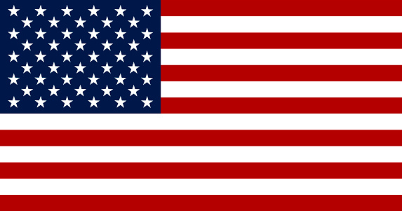 Flag of the United States of America Illustration
