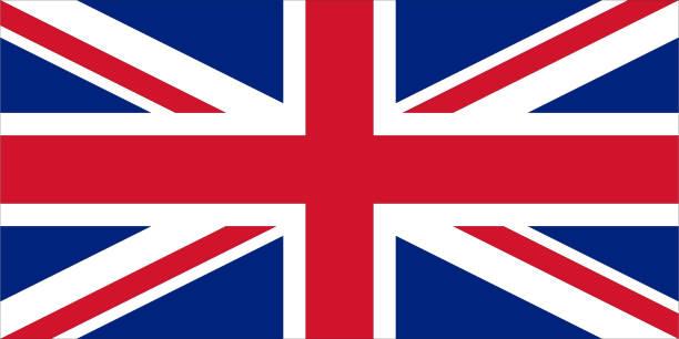 国旗の united kingdom   - イギリスの国旗点のイラスト素材/クリップアート素材/マンガ素材/アイコン素材