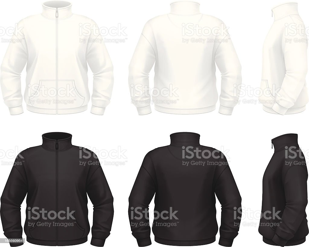 Fleece jacket royalty-free fleece jacket stock vector art & more images of adult