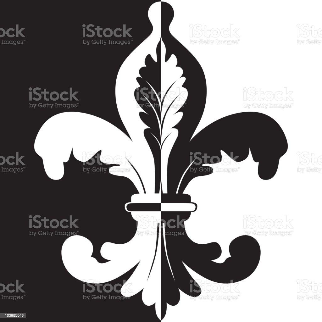 Fleur de lis royalty-free fleur de lis stock vector art & more images of black color