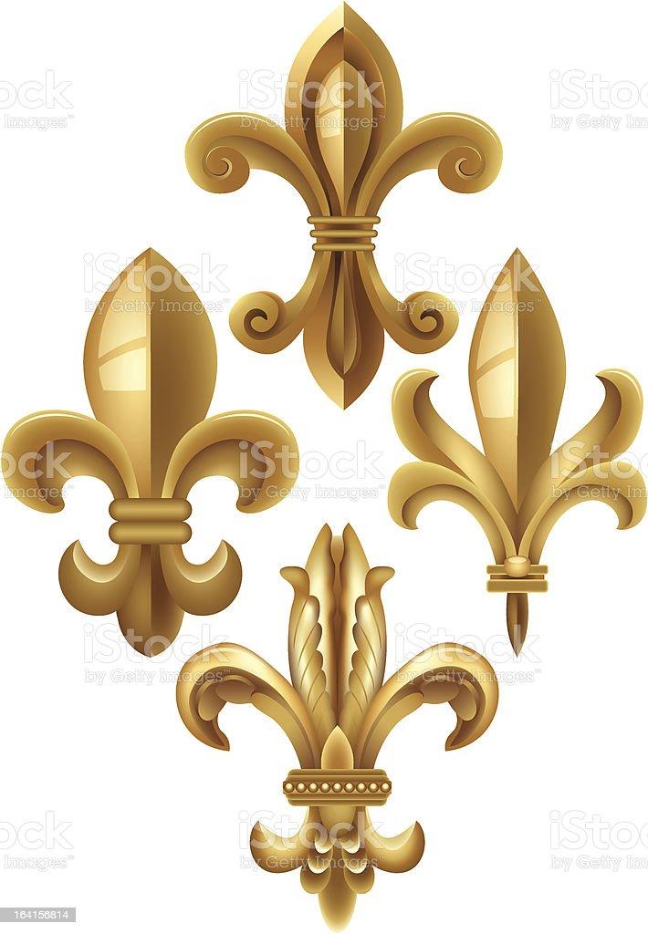 Fleur De Lys royalty-free fleur de lys stock vector art & more images of antique