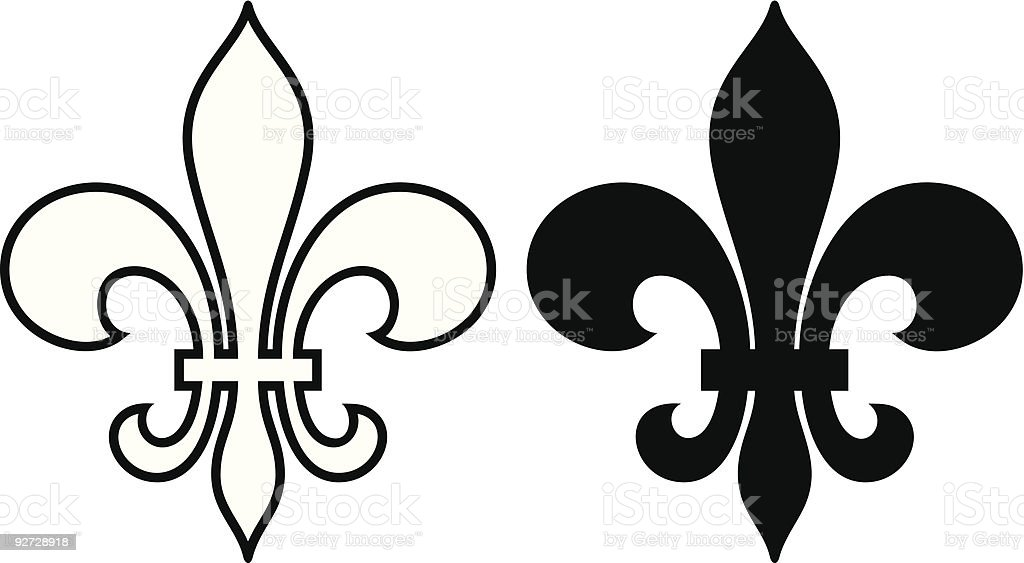 royalty free fleur de lys clip art vector images illustrations rh istockphoto com
