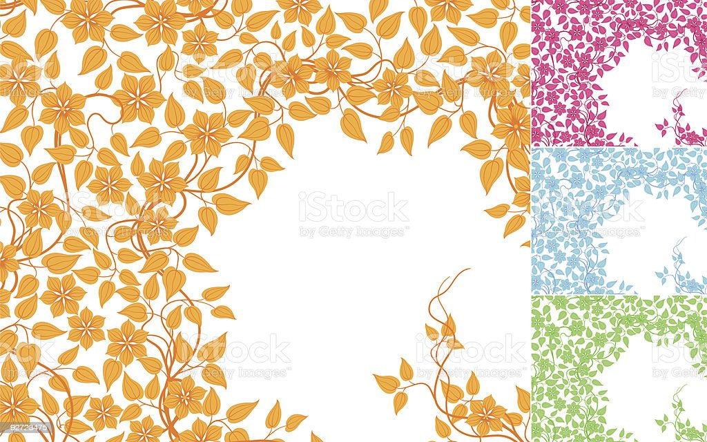 Floral background. royalty-free floral background stock vector art & more images of abstract