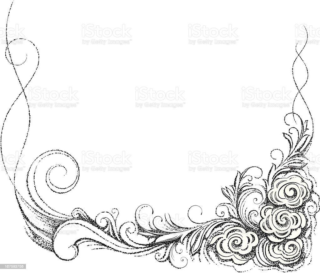 Floral corner decor. royalty-free floral corner decor stock vector art & more images of antique