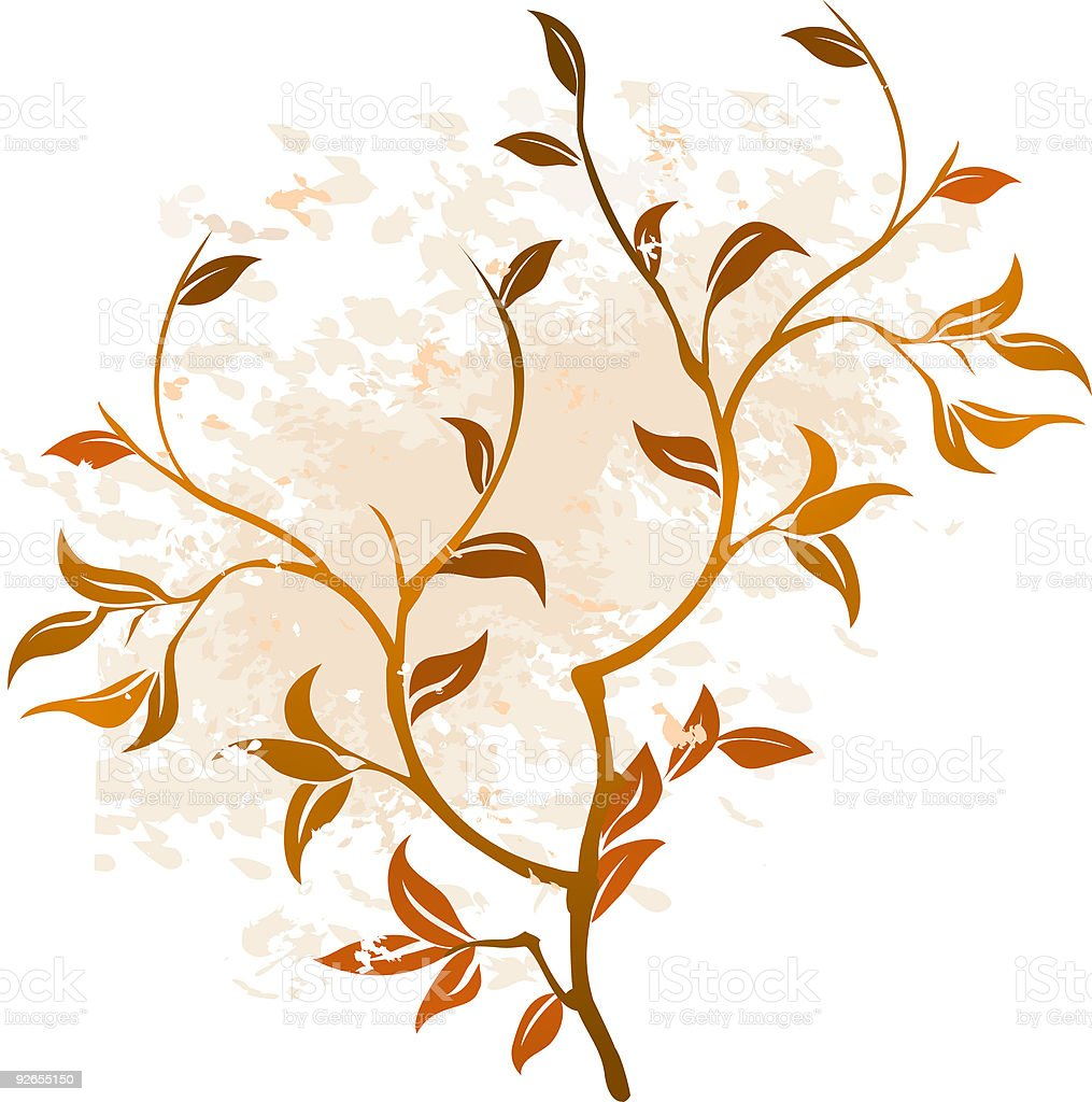 Floral Grunge Background Vector royalty-free floral grunge background vector stock vector art & more images of abstract