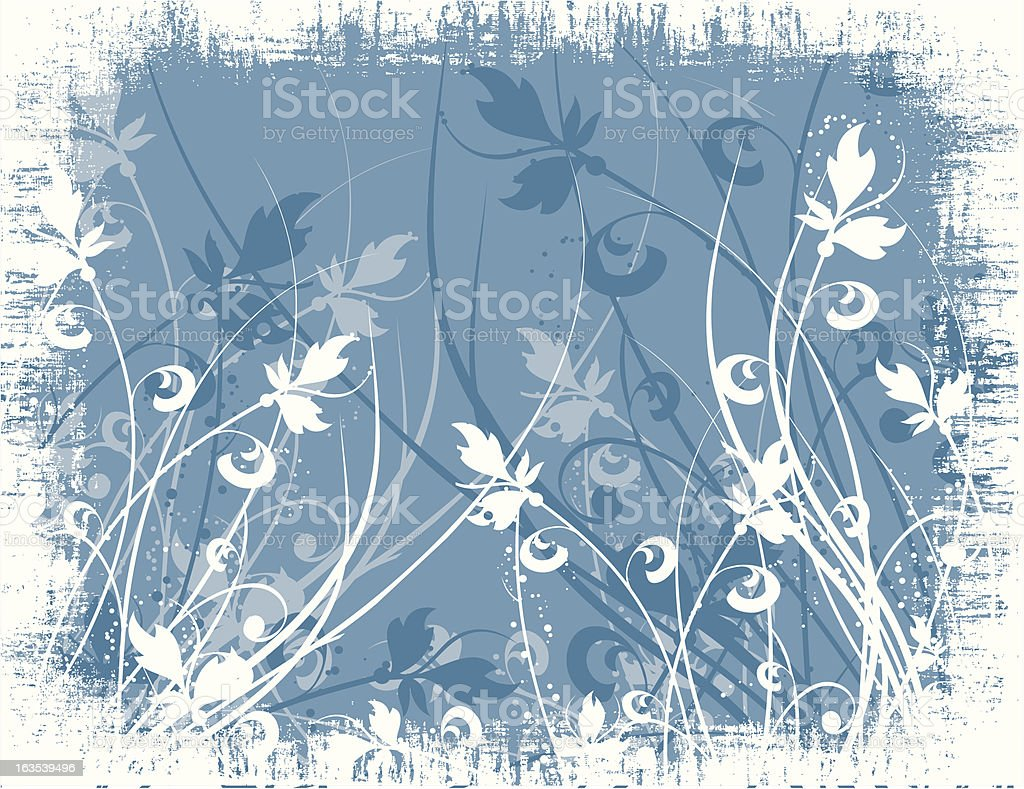 Floral grunge royalty-free floral grunge stock vector art & more images of abstract