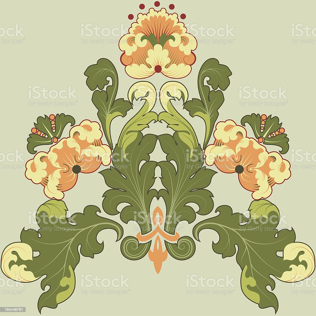 floral royalty-free stock vector art
