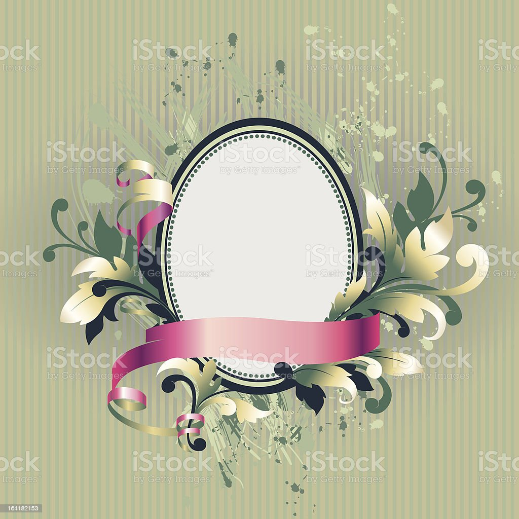 Floral label royalty-free floral label stock vector art & more images of art and craft