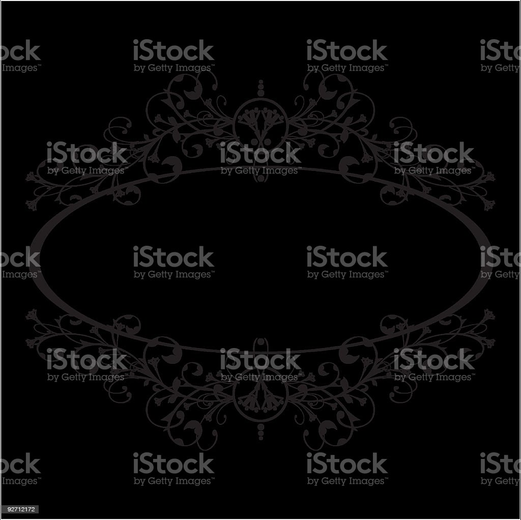 Floral ornament border royalty-free floral ornament border stock vector art & more images of abstract