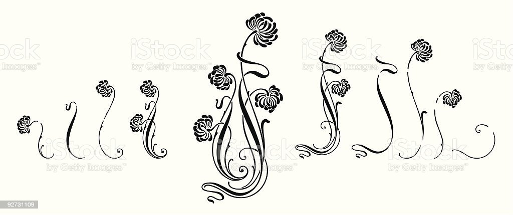 Floral Ornament (vector)