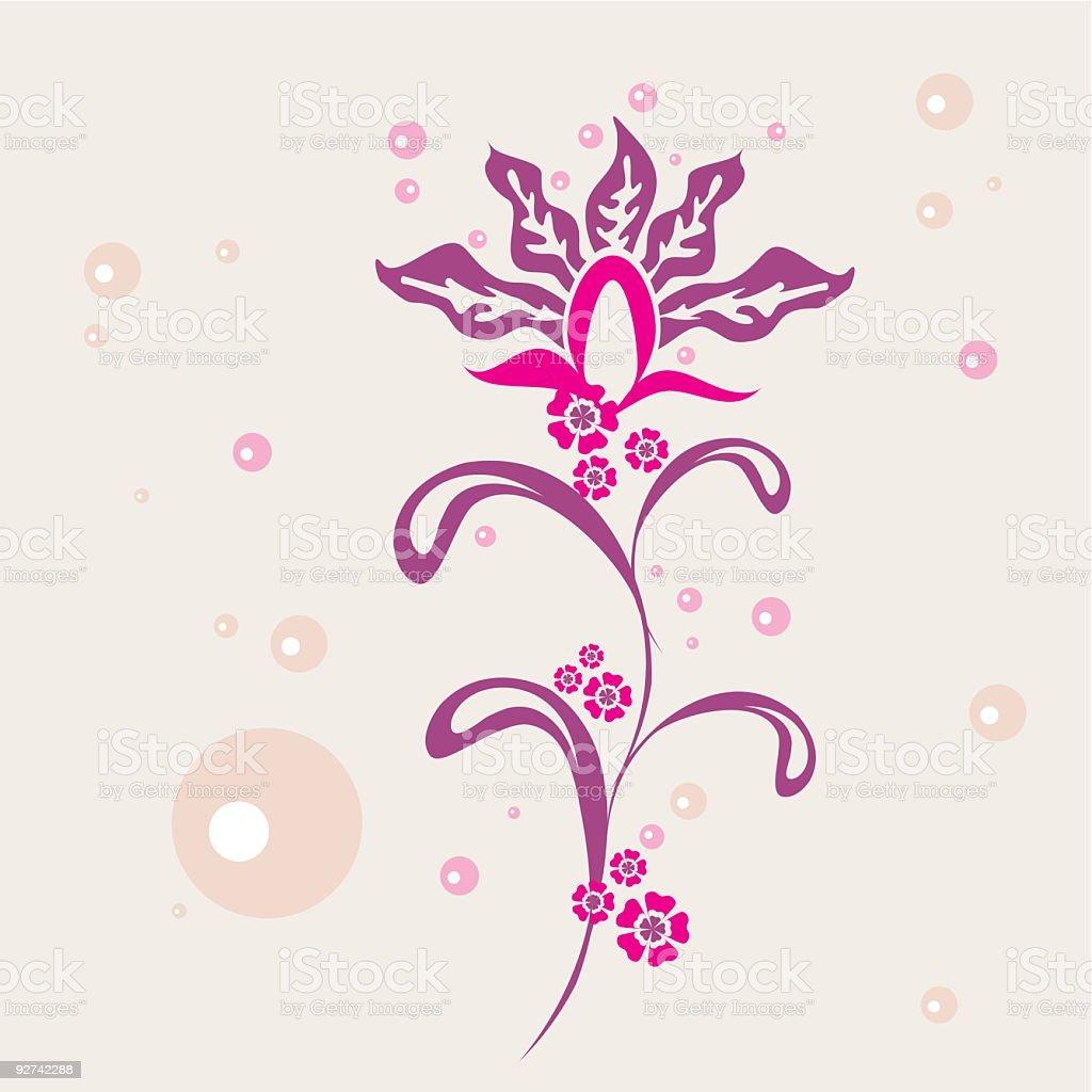 Floral Ornament Lizenzfreies floral ornament stock vektor art und mehr bilder von abstrakt