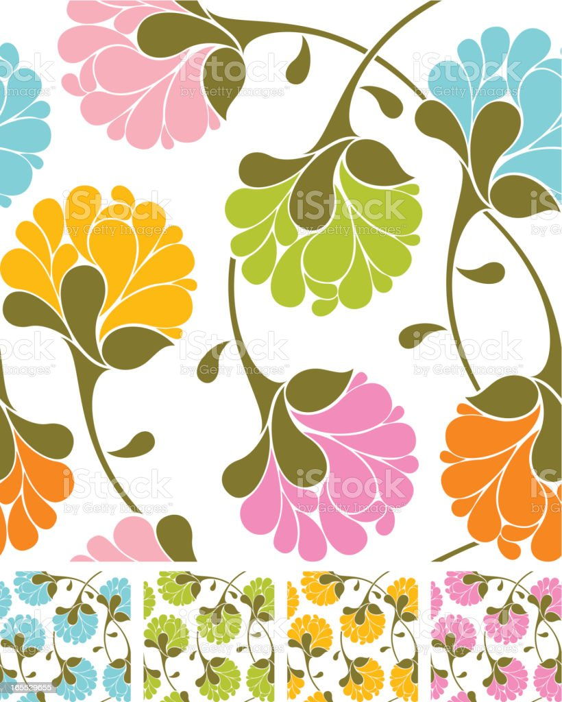 Floral pattern royalty-free floral pattern stock vector art & more images of art and craft