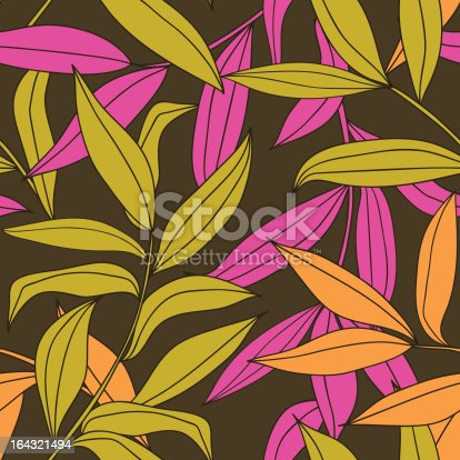 istock Floral seamless pattern 164321494