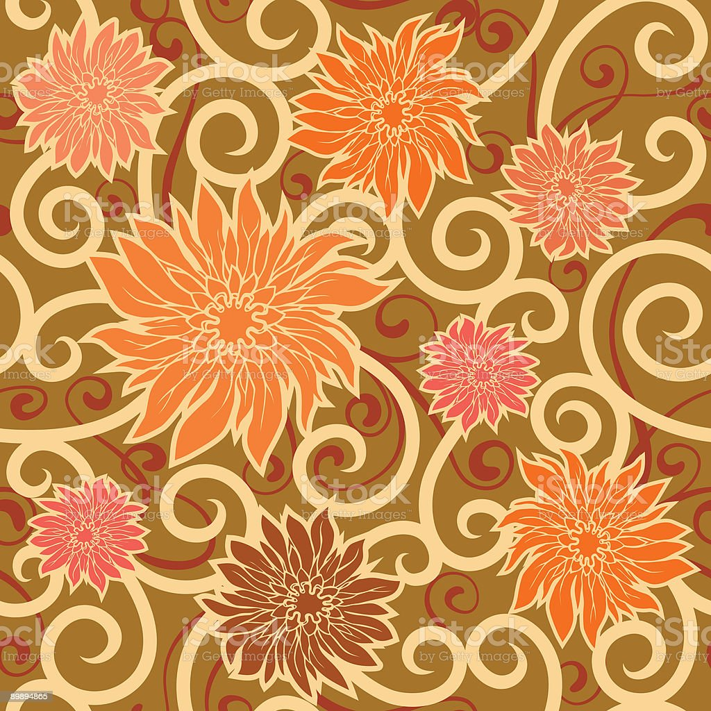floral wallpaper royalty-free floral wallpaper stock vector art & more images of abstract
