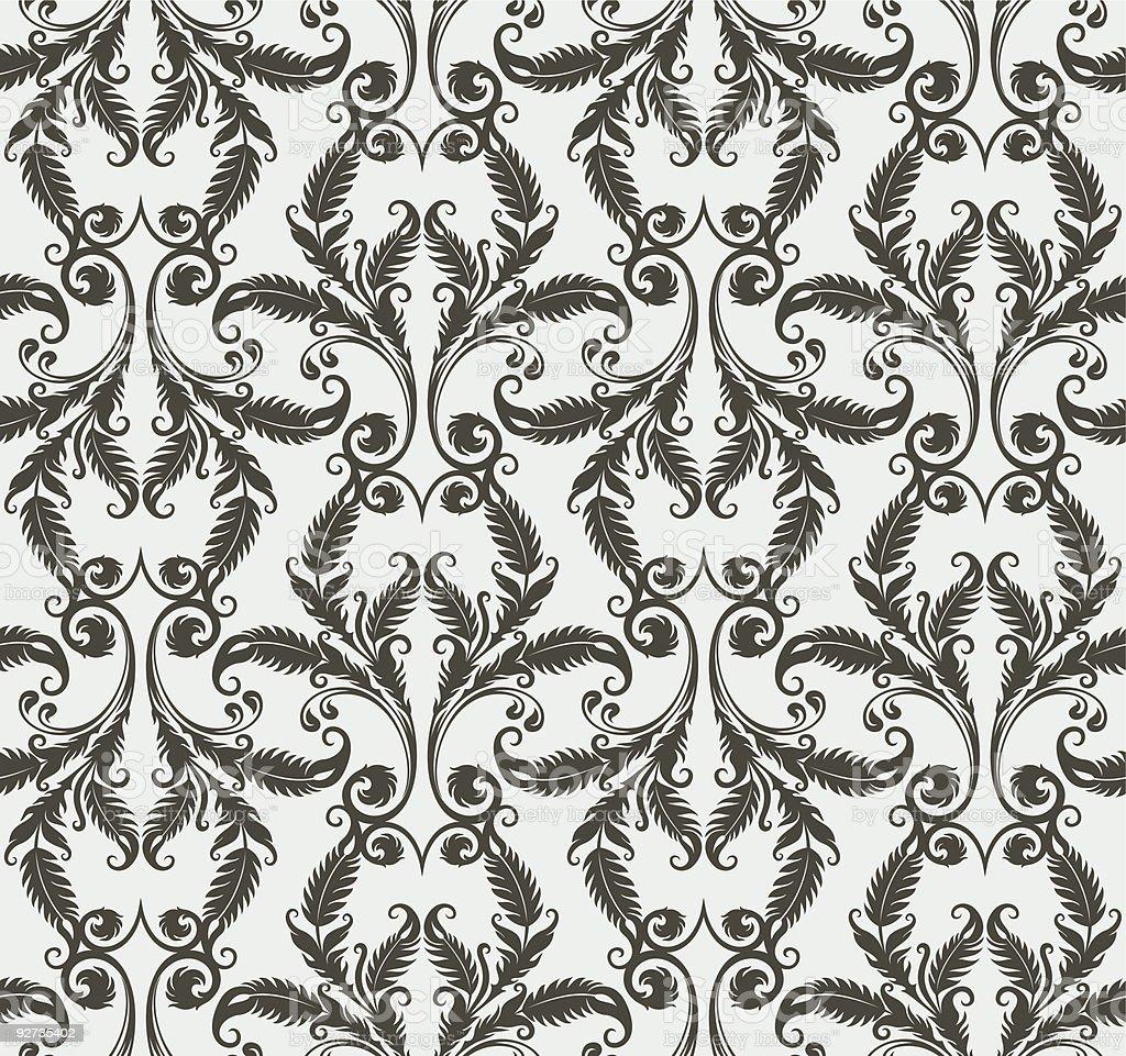 floral Tapete Lizenzfreies floral tapete stock vektor art und mehr bilder von abstrakt