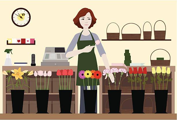 Royalty Free Flower Shop Clip Art, Vector Images ...
