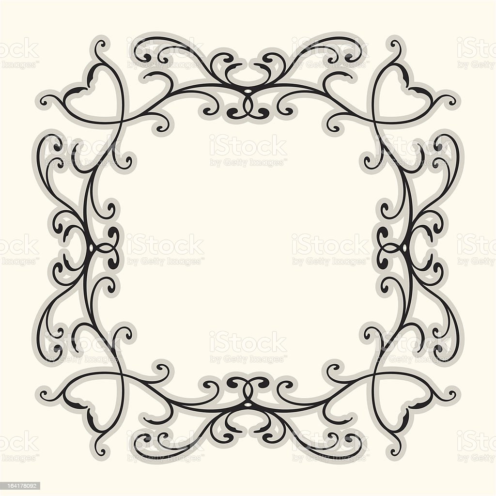 Flourish Border royalty-free flourish border stock vector art & more images of abstract