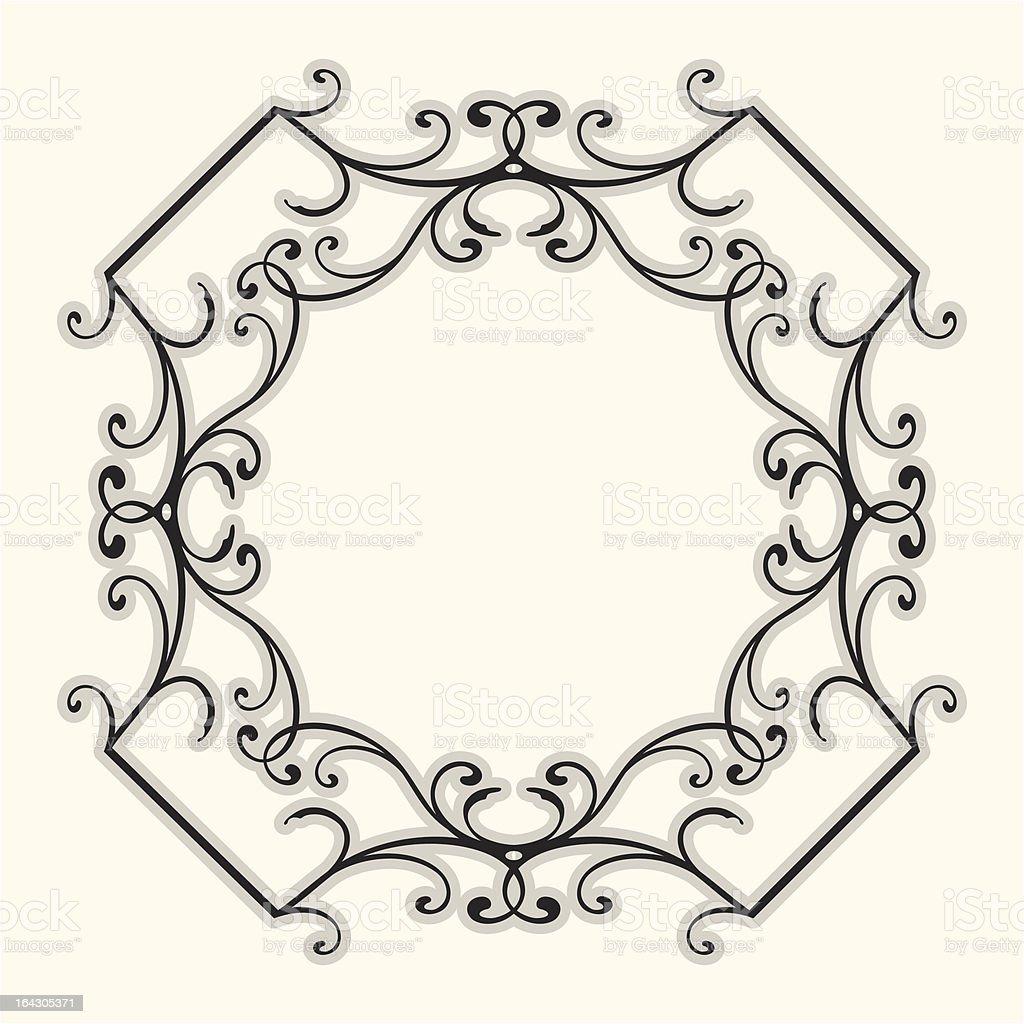 Flourish Border royalty-free flourish border stock vector art & more images of abstract