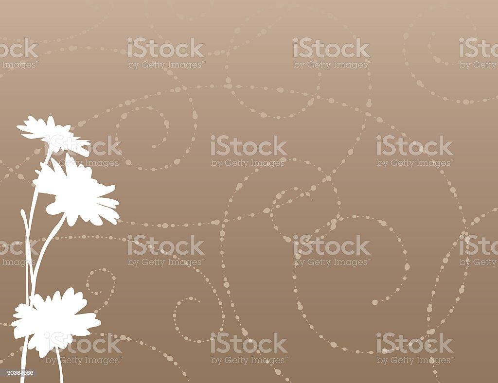 Flower Aroma vector art illustration