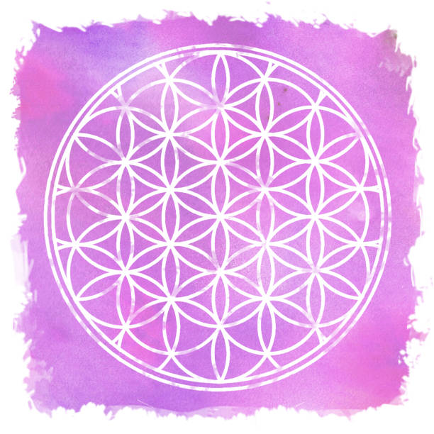 Flower Of Life Sacred Geometry - Vector Download