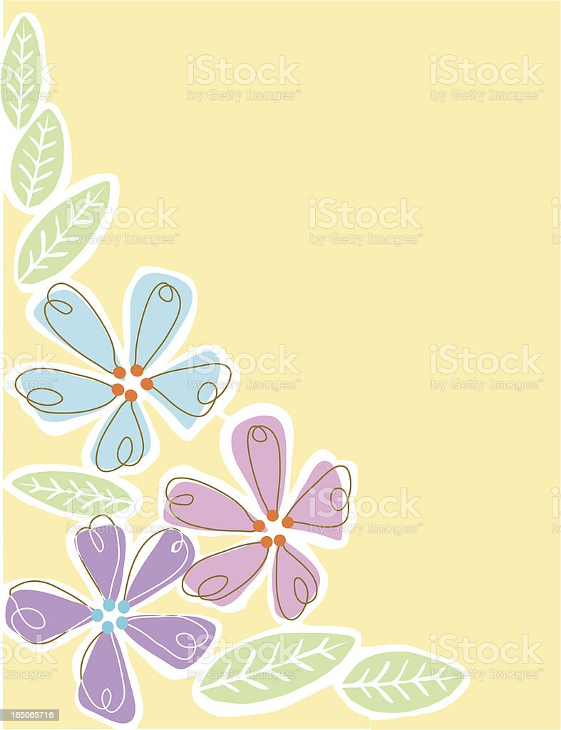 Flower power royalty-free stock vector art