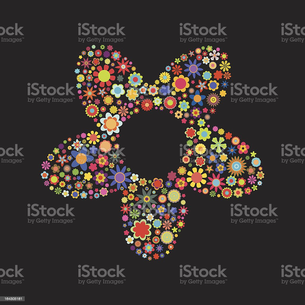 flower shape royalty-free flower shape stock vector art & more images of abstract
