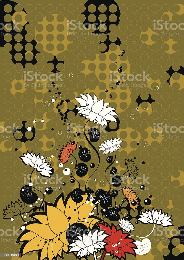 Flower , vector royalty-free flower vector stock vector art & more images of abstract